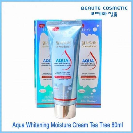 Beaute Cosmetic Korea Meladoctor Aqua Moisture Whitening Tea Tree Cream 80ml