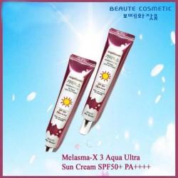 Beaute Cosmetic Korea Melasma-X 3D Aqua Ultra Sun Cream SPF50+ PA++++ 45ml