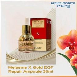 Beaute Cosmetic Korea Melasma-X 24k Gold EGF Repair Ampoule 30ml