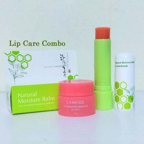 Pink & Damage Repair Lip Care Combo