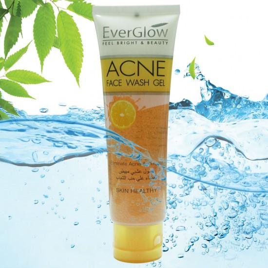 EverGlow Peel Bright & Beauty Acne Face Wash Gel 100 ML