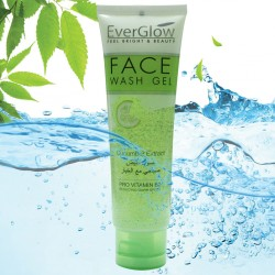EverGlow Peel Bright & Beauty Cucumber Extract Face Wash Gel 100 ML