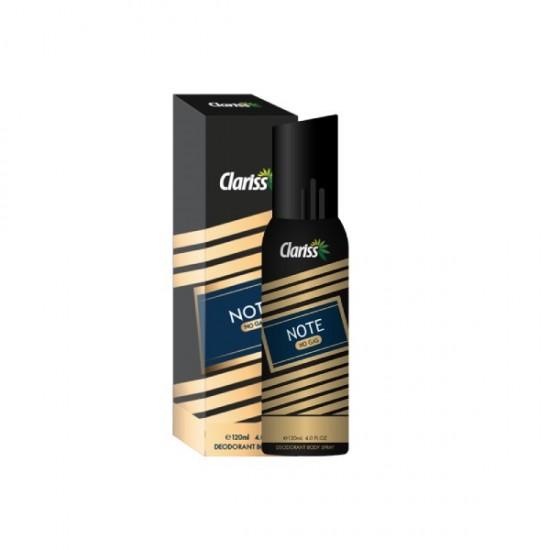 Clariss UAE No Gas Deodorant Note 120 ml
