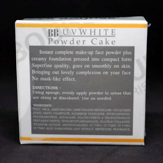 LA BOURSE L2102 WHITENING POWDER CAKE UV PROTECTION COLOR NO 2