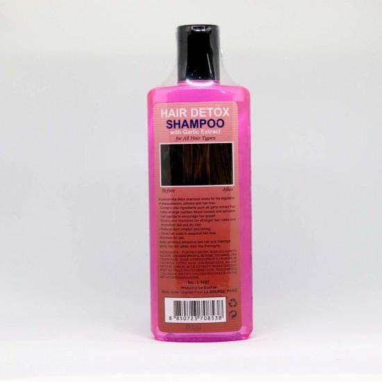 LA BOURSE PARIS HAIR DETOX SHAMPOO WITH GARLIC EXTRACT HAIR REVIVAL