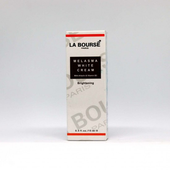 LA BOURSE PARIS MELASMA WHITE CREAM WITH ARBUTIN & VITAMIN B3