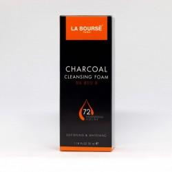 LA BOURSE PARIS CHARCOAL CLEANSING FOAM – More Than Face Wash