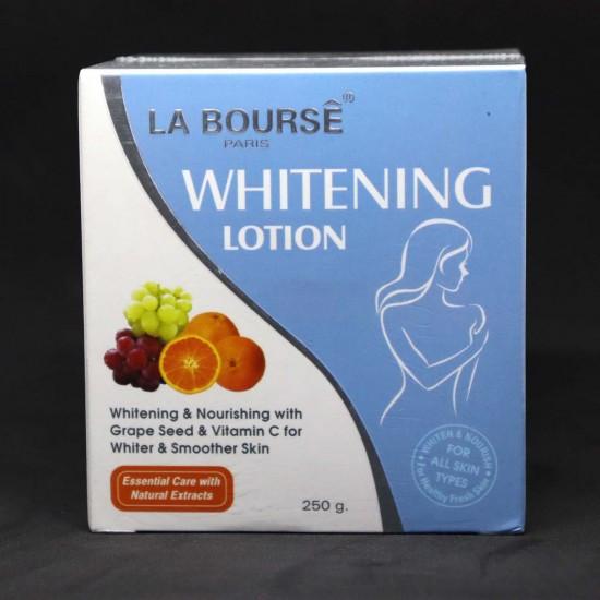 La Bourse Paris Whitening Lotion – Whitening & Nourishing 250G
