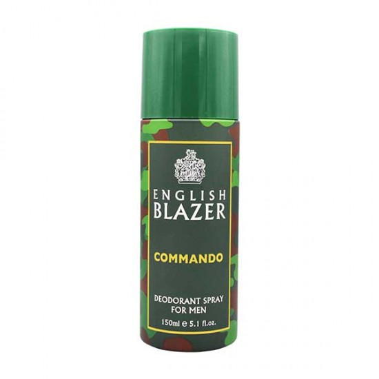 English Blazer Commando Body Spray 150ml